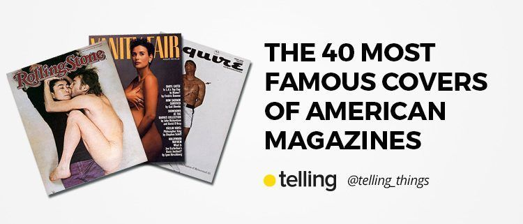 40 covers most famous of American Magazines