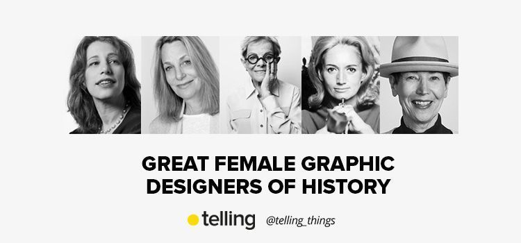 Great Female Graphic Designers of History