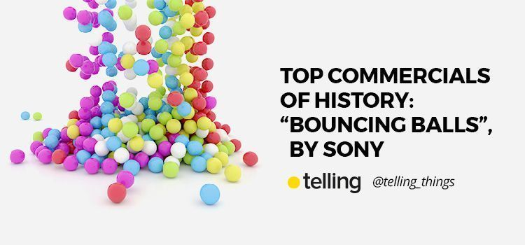 """Top Commercials of History: """"Bouncing Balls"""" by Sony"""