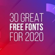 30 Great Free Fonts of 2020