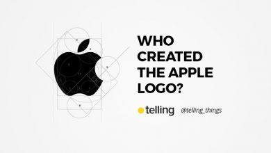 Who created the Apple logo?